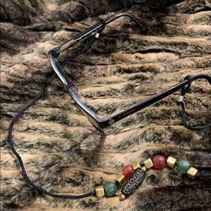 Eyeglass linear. Funky, kind of BoHo & Autumny!